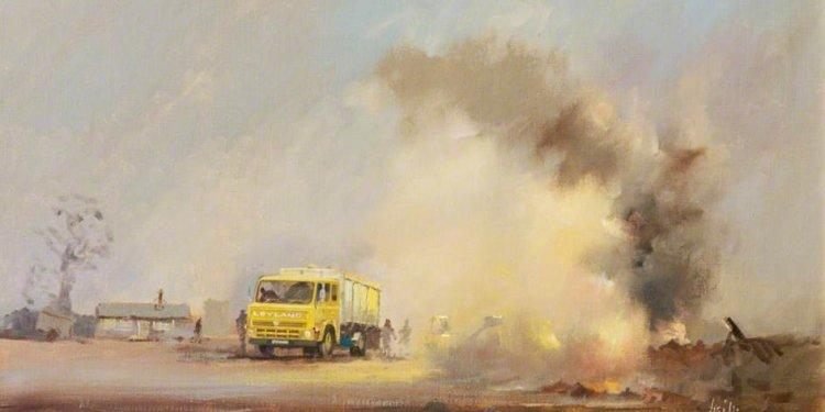 Leyland Mastiff Truck on a