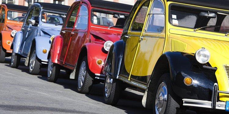 France cars 2cv