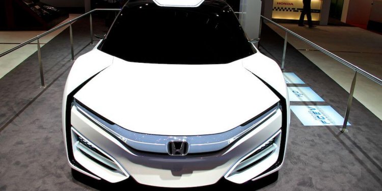 Honda FCEV Concept at the