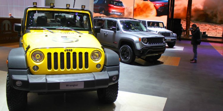 Jeep at Geneva Auto Show 2015