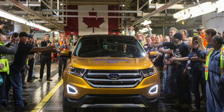 Blow for Canadian auto
