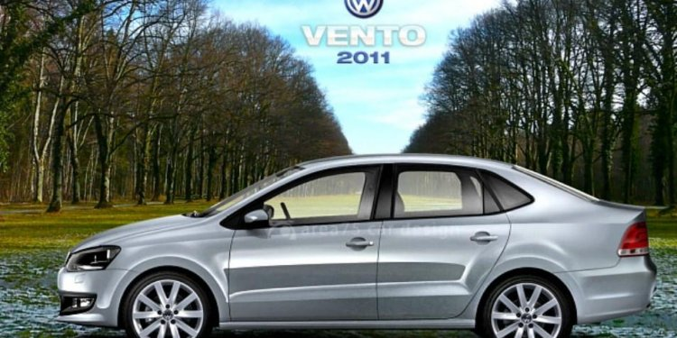 The upcoming Volkswagen Vento