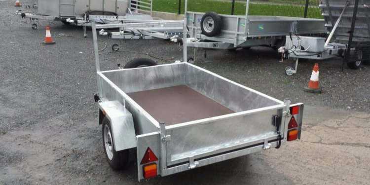 LADDER RACK CAR TRAILERS