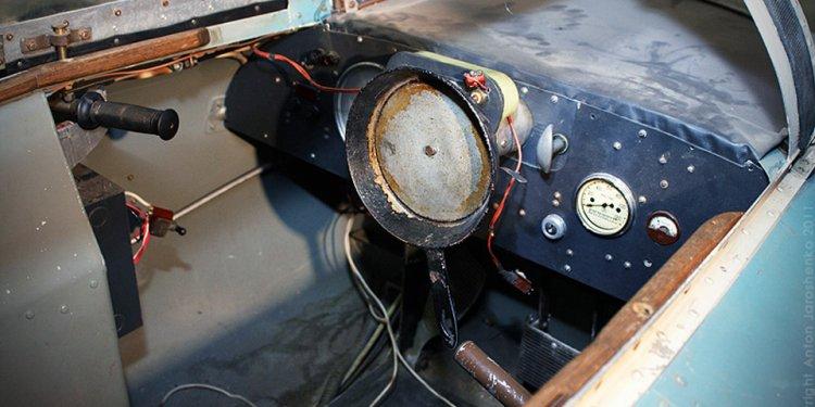 A frying pan steering wheel: