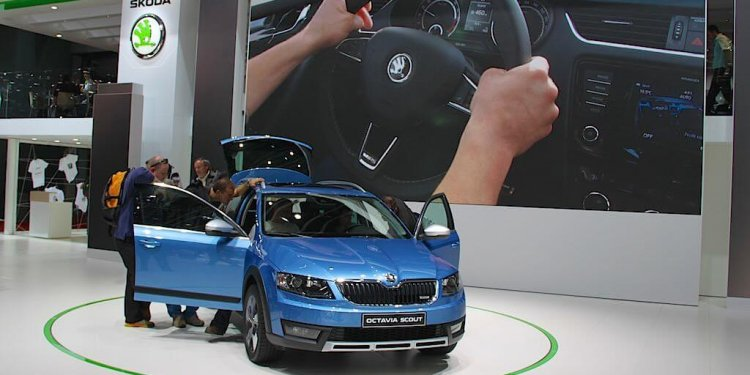 Skoda Octavia Scout at the