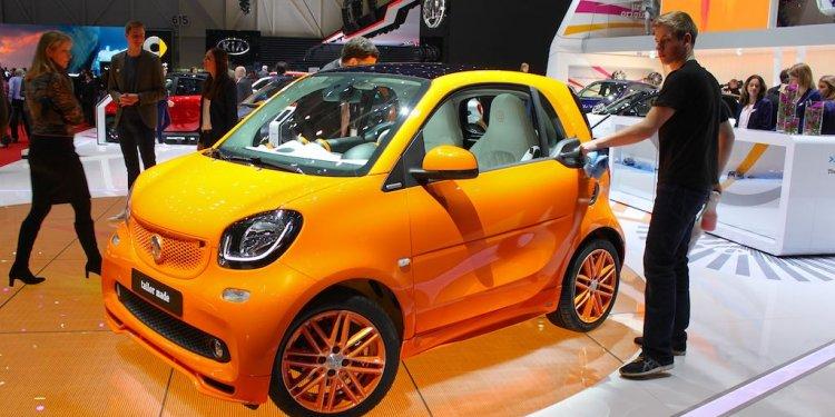 Smart at Geneva Auto Salon