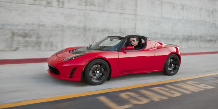 Tesla launched the Roadster