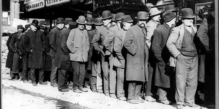 Great depression lines