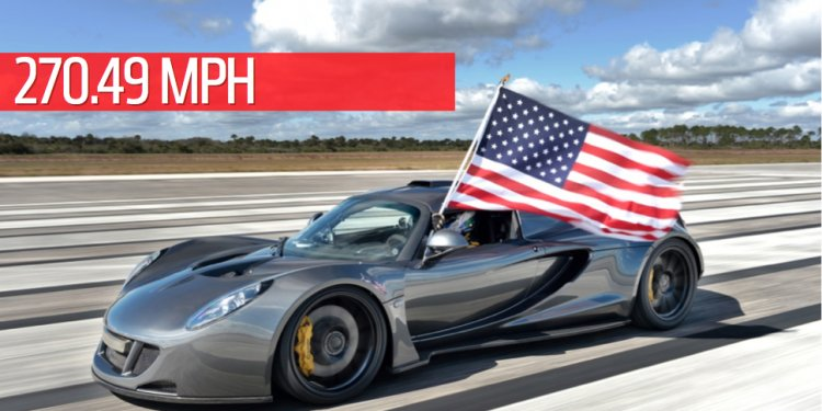 The Hennessey Venom GT Is The