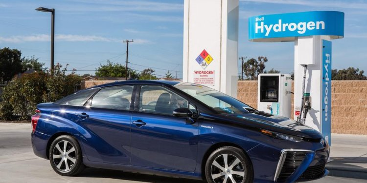 Toyota Ushers in Hydrogen Fuel