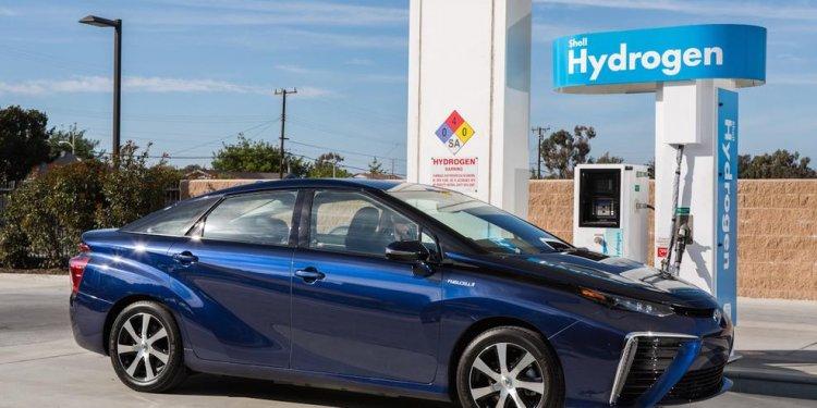 Toyota Ushers in Hydrogen Fuel