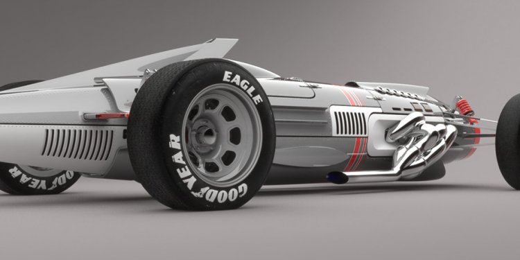 Mig inspired concept car by