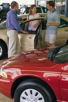 A SWOT evaluation will automobile dealers identify where they need improvements.