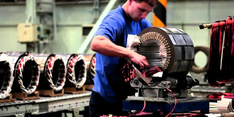 Industrial applications of induction Motor
