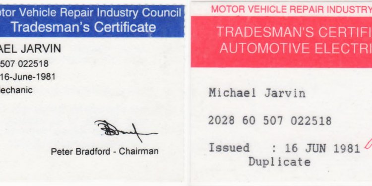 Motor Vehicle repair Industry Council
