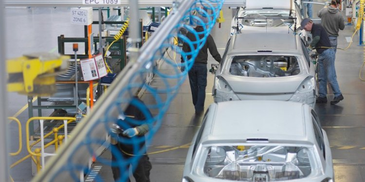 Training in automobile industry