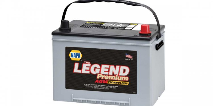 Car battery manufacture date