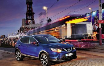 Big hit: WhatCar? crowned little SUV the Nissan Qashqai its overall champion of vehicle of the year. 1st vehicles rolled of this manufacturing range in Sunderland recently