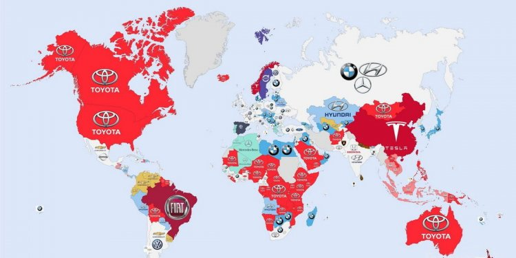 Car manufacturers by Country