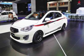 MITSUBISHI Mirage Sedan sports concept