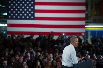 President Obama provides remarks at Ford Michigan Assembly Plant