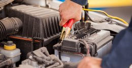 replacing a vehicle electric battery