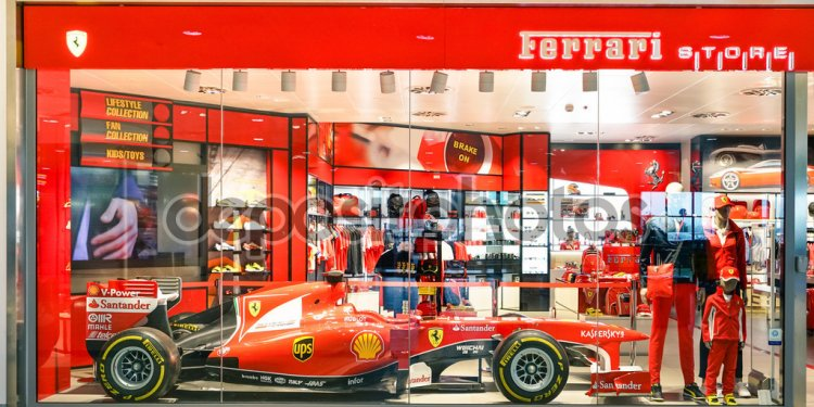 Italian sports car manufacturer based in Maranello