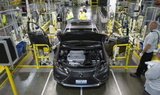 Where are Lexus automobiles made: Georgetown, Kentucky, American Monday October 5, 2015 Photo by Joseph Rey Au